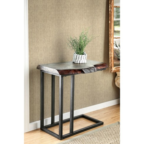 Barnhill Industrial Style Side Table Natural Tone - HOMES: Inside + Out - image 1 of 3