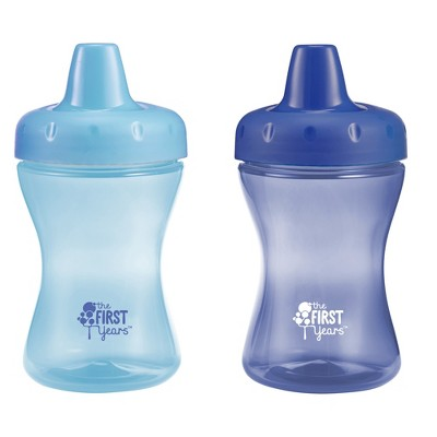 The First Years 2pk Super Chill Insulated Sippy Cup 9oz - Boy