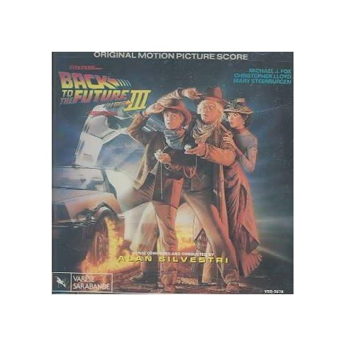 Alan AlanSilvestri Silvestri - Back To The Future Part Iii (Ost)back To The  Future Part Iii (Ost) (CD)