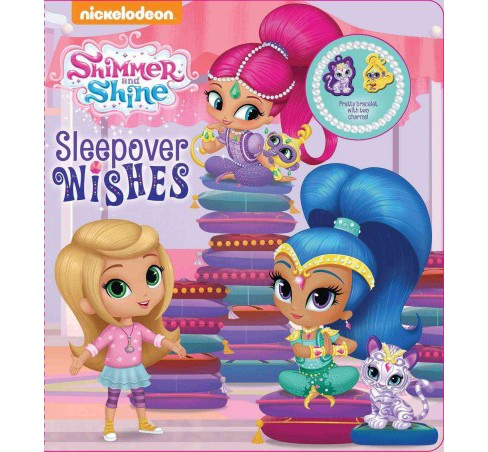 Shimmer and Shine - Sleepover Wishes (Hardcover) - image 1 of 1