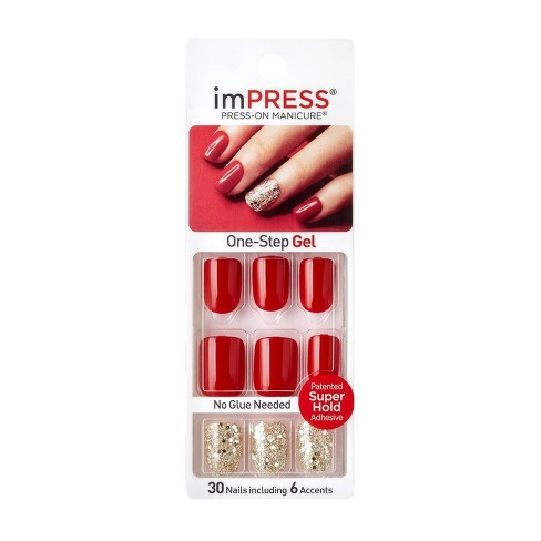Broadway Nails imPRESS® Press-On Manicure® - Tweetheart - image 1 of 1