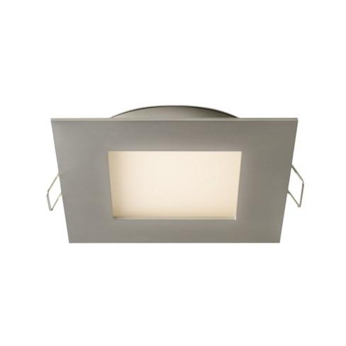"DALS Lighting 7004-SQ Pro Series 4"" Square LED Recessed Fixture - 3000K & 640 Lumens - image 1 of 1"
