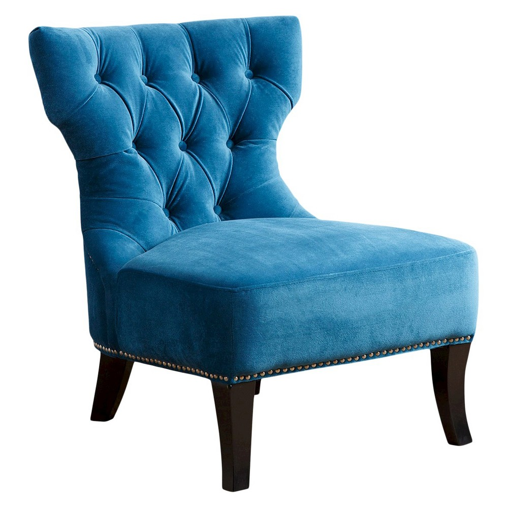 Vista Microsuede Fabric Chair - Petrol Blue, Dawn Blue