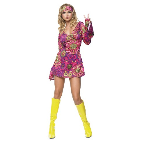 Women S Hippie Girl Dress Costume Target