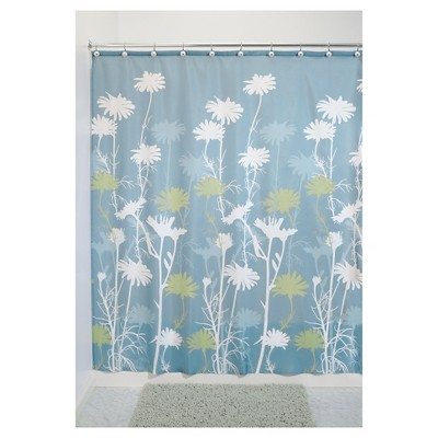 InterDesign Daisy Polyester Shower Curtain