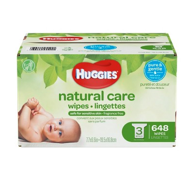 Huggies Wipes Natural Care Baby Wipes - 648ct