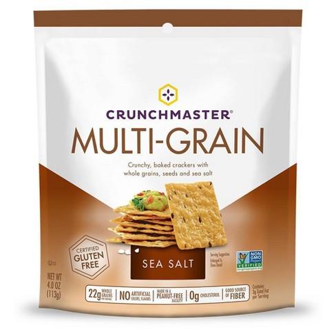 Crunchmaster Multi-Grain Sea Salt Crackers 4oz - image 1 of 3