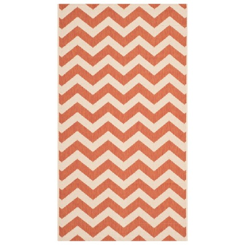 Elvas Patio Rug - Terracotta / Beige - Safavieh® - image 1 of 2