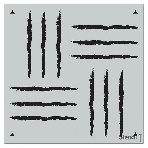 "Stencil1® Weave Repeating - Wall Stencil 11"" x 11"" - image 1 of 3"