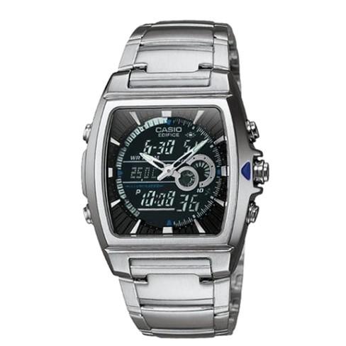 "Casio Men's Square Face Ana-Digi Watch - Silver (9"") - EFA120D-1AV - image 1 of 1"