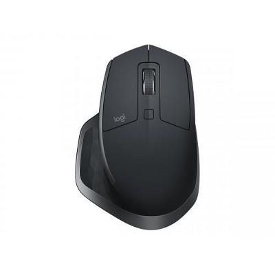 Logitech MX Master 2S - Darkfield - Wireless - Bluetooth/Radio Frequency - 2.40 GHz - Graphite - USB - 4000 dpi - Scroll Wheel - 7 Button(s)