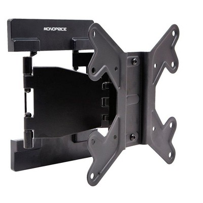 Monoprice Ultra-Slim Full-Motion Articulating TV Wall Mount Bracket For TVs 23in to 42in | Max Weight 66lbs, VESA Pattern