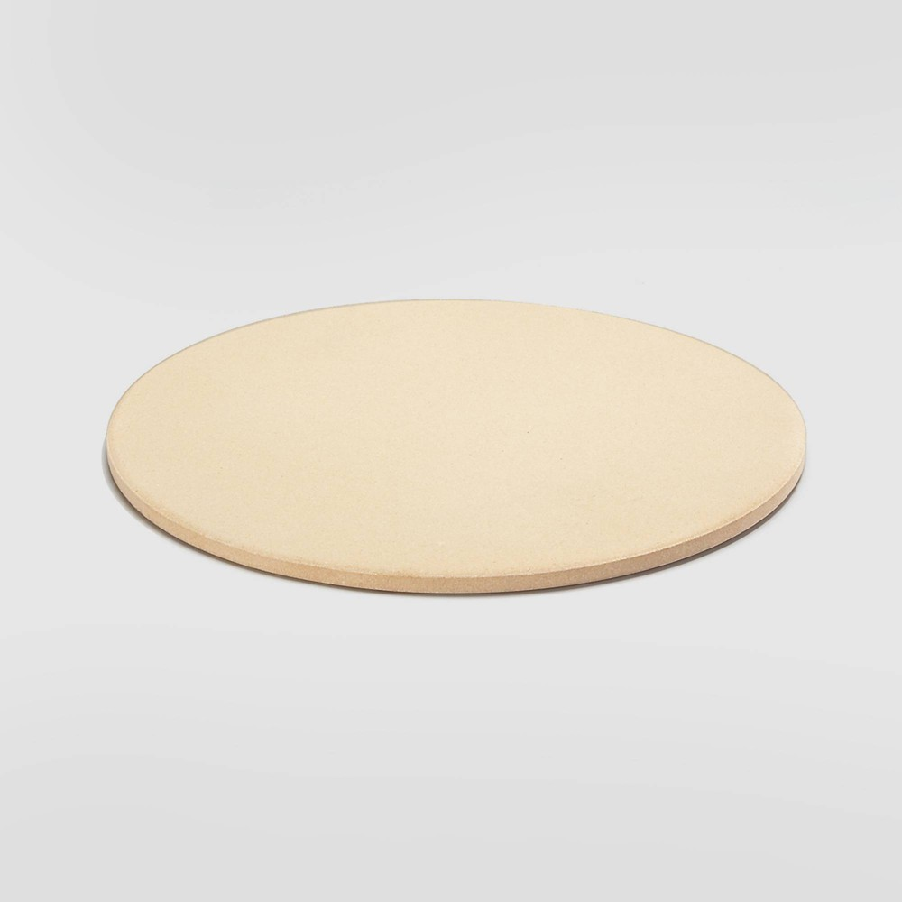 "Image of ""13"""" Round Pizza Grill Stone Beige - Outset"""