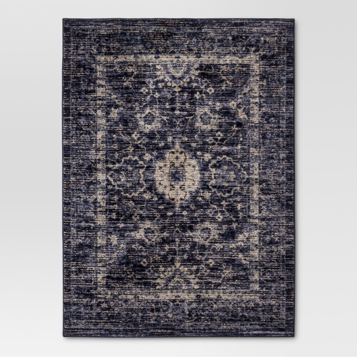 Vintage Distressed Rug - image 1 of 2