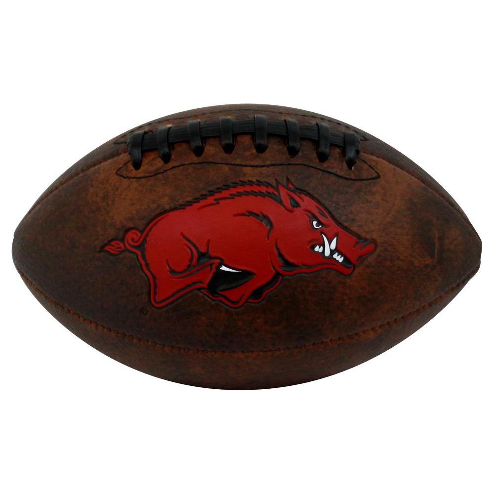 NCAA Arkansas Razorbacks Vintage Mini Football