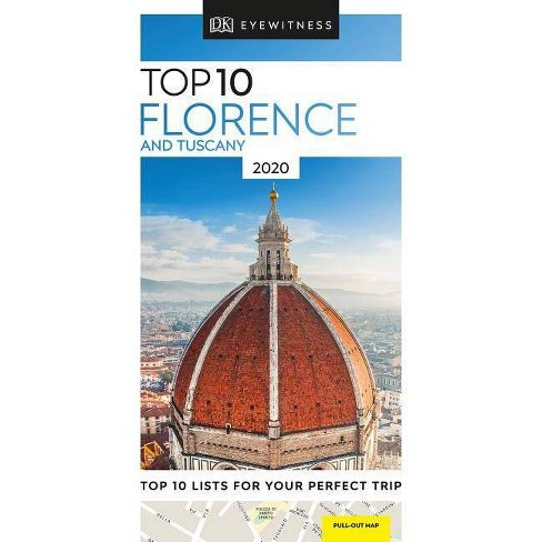 DK Eyewitness Top 10 Florence and Tuscany - (Travel Guide) (Paperback) - image 1 of 1