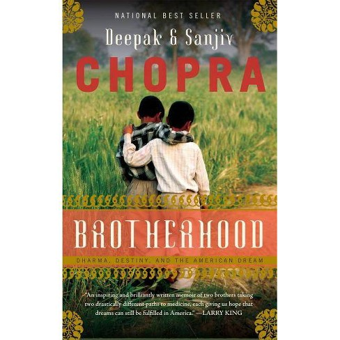 Brotherhood - by  Deepak Chopra & Sanjiv Chopra (Hardcover) - image 1 of 1