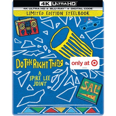 Do the Right Thing Steelbook (Target Exclusive) (4K/UHD + Blu-ray + Digital)