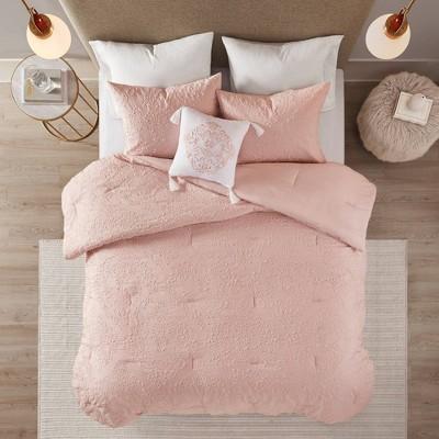 Madeline 4 Piece Microsculpt Comforter Set