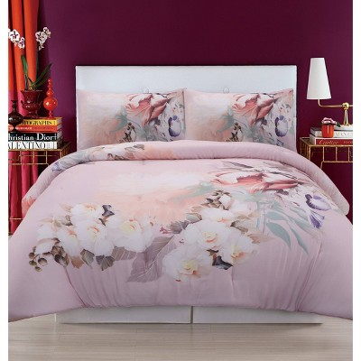 Christian Siriano Dreamy Floral Duvet Cover Set