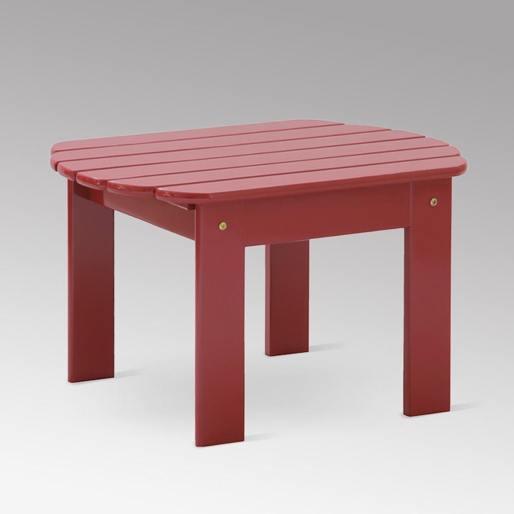 Alston Adirondack Side Table - Red - Cambridge Casual