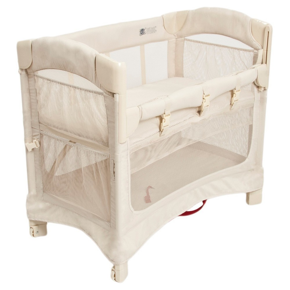 Image of Arm's Reach Mini 2-in-1 Ezee Co-Sleeper Bassinet – Natural