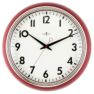"14"" Schoolhouse Clock - Threshold™"