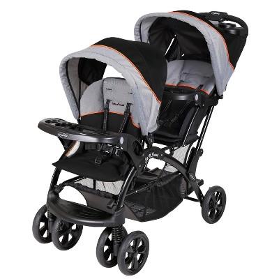 Baby Trend Sit N' Stand Double Stroller - Millennium Orange