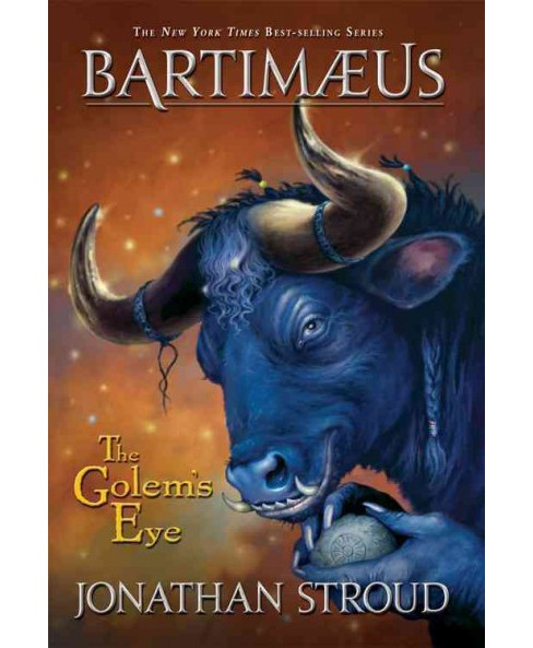 Golem's Eye -  Reprint (Bartimaeus Trilogy) by Jonathan Stroud (Paperback) - image 1 of 1