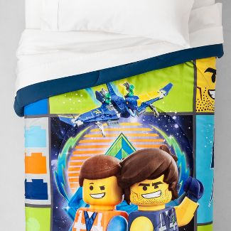 LEGO Movie 2 Twin Galactic Duo Comforter