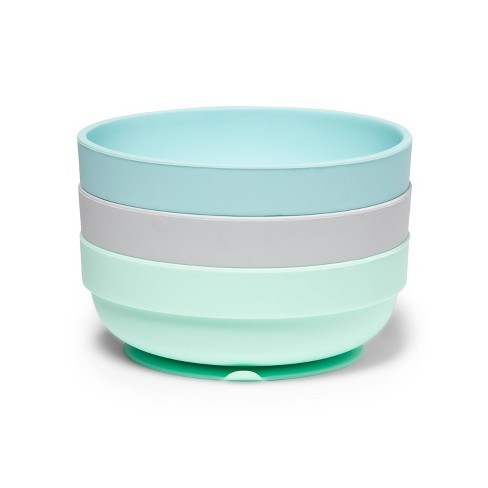 Silicone Suction Bowls - Cloud Island™ - 3pk - image 1 of 3