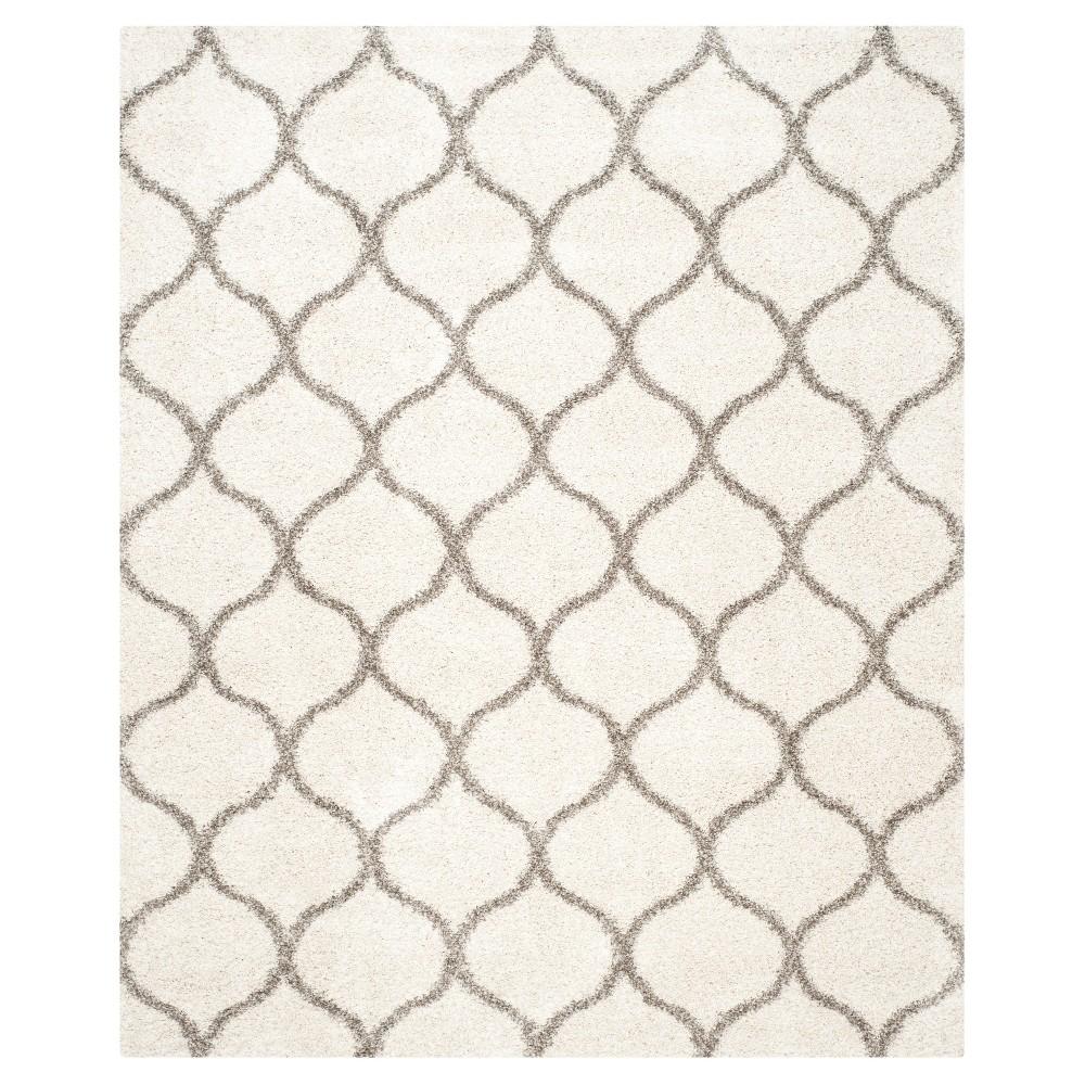 Hudson Shag Rug - Ivory/Gray - (10'X14') - Safavieh
