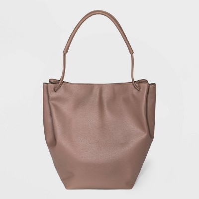 Soft Magnetic Closure Shoulder Handbag - A New Day™