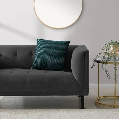 Joan Rib Knit Decorative Throw Pillow - Refinery29