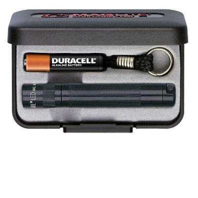 MagLite Solitaire LED AAA Flashlight Presentation Box, Black