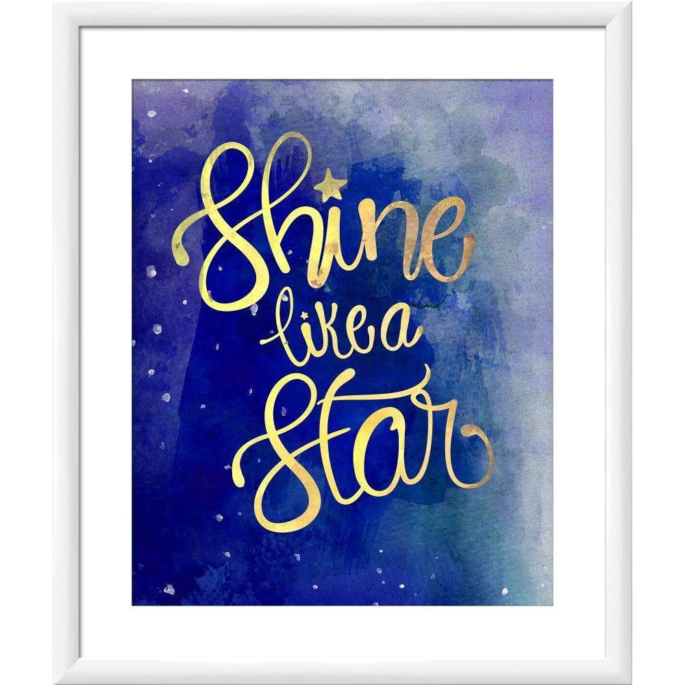 "Image of ""18"""" x 22"""" """"Shine Like a Star"""" Wall Art - PTM Images"""