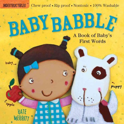 Baby Babble : A Book of Baby's First Words (Paperback)