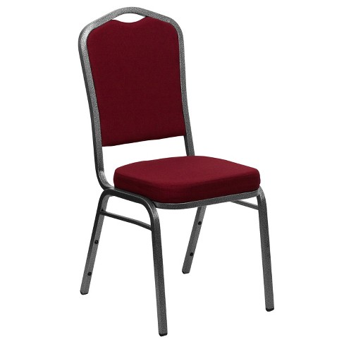Riverstone Furniture Collection Fabric Banquet Chair Burgundy - image 1 of 4