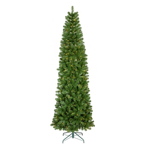 9ft Prelit Artificial Christmas Tree Slim Alberta Spruce Clear Lights -  Wondershop™ - 9ft Prelit Artificial Christmas Tree Slim Alberta... : Target