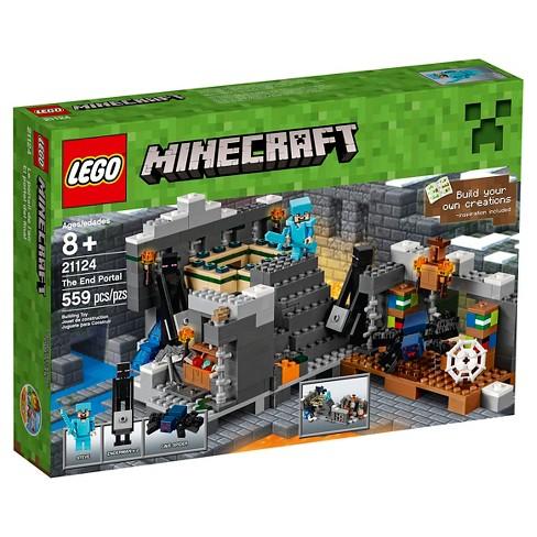 Lego Minecraft The End Portal 21124 Target