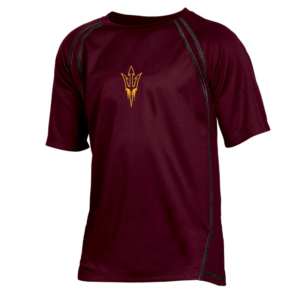 Arizona State Sun Devils Boys' Impact Poly Performance T-Shirt XS, Multicolored