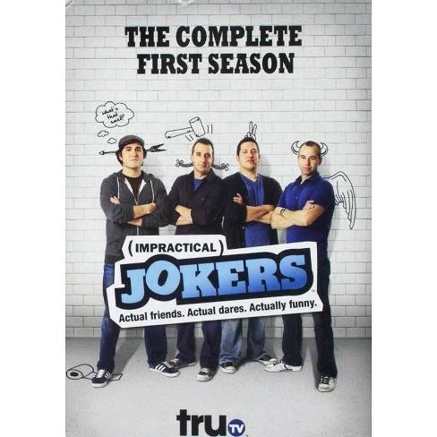 Impractical Jokers: Seasons 1 & 2 (DVD)