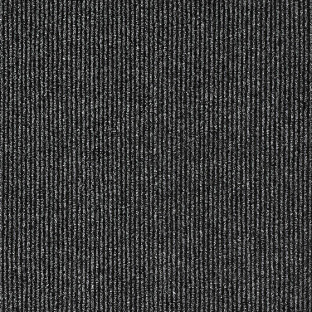 10pk Self Stick Carpet Tile Gray