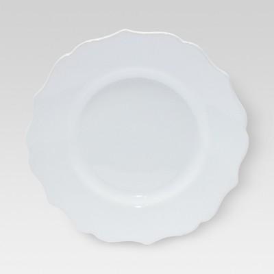 Casablanca Salad Plate, White 8 x8  - Threshold™