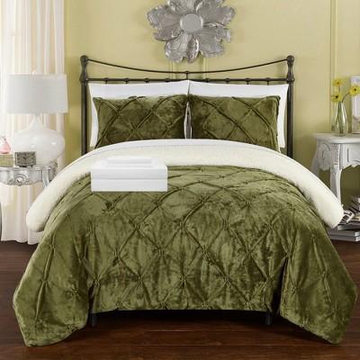 Chic Home Roal Decorative Shams - Green