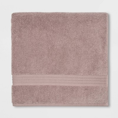 Spa Bath Sheet Light Mauve - Threshold Signature™