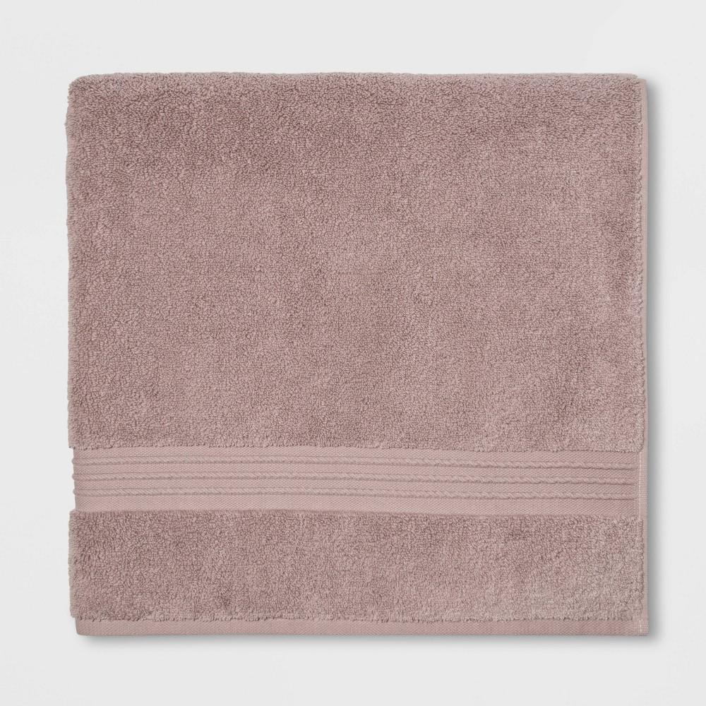 Spa Bath Sheet Light Mauve - Threshold Signature Reviews