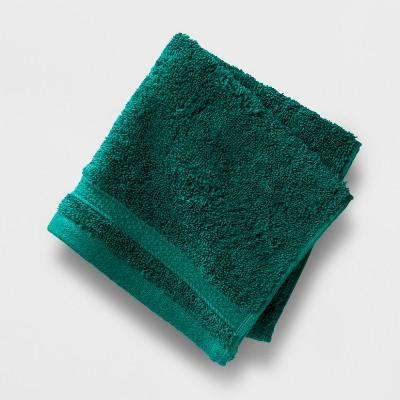 Perfectly Soft Solid Washcloth Bluff Green - Opalhouse™