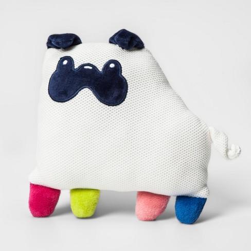 Pug Mini Plush Throw Pillow - Pillowfort™ - image 1 of 2