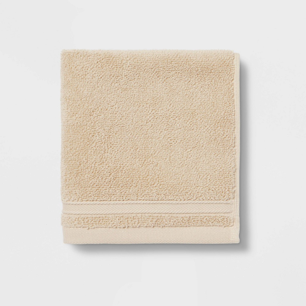 Check price Performance Washcloth Tan - Threshold